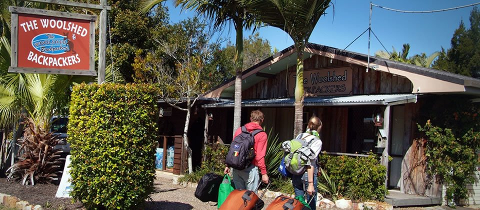 Front Entrance Backpackers