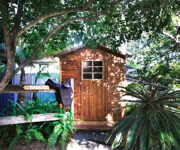Woolshed backpackers in Hervey bay.