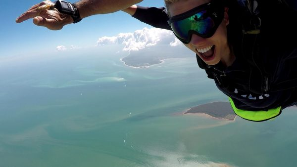 Skydiving with a view! :)
