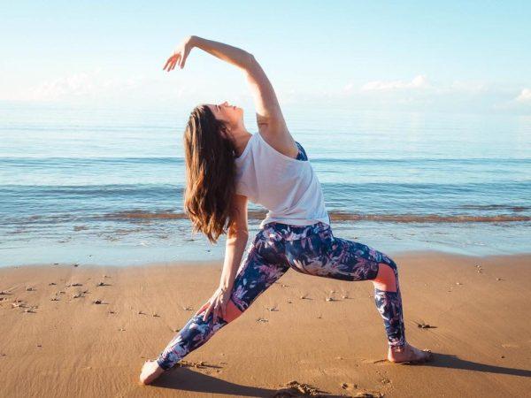Amy from the Ocean Tree Yoga Studio in Hervey Bay