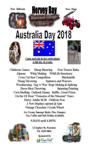 Historical Village Australia Day Programme