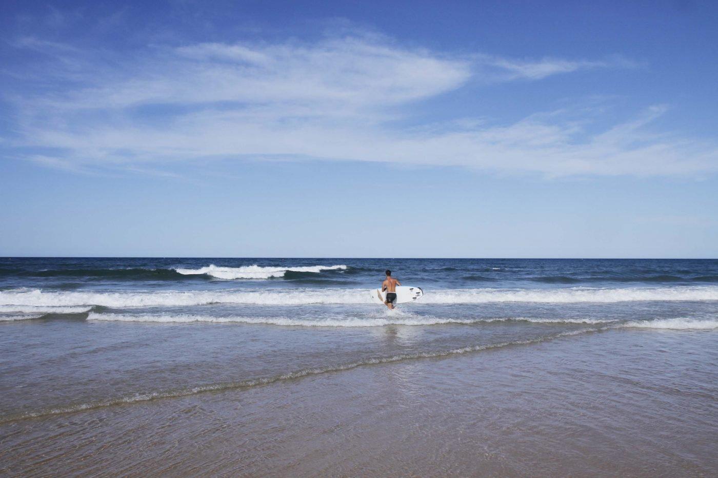 Beautiful Rainbow Beach, just an hour and a half from Hervey Bay