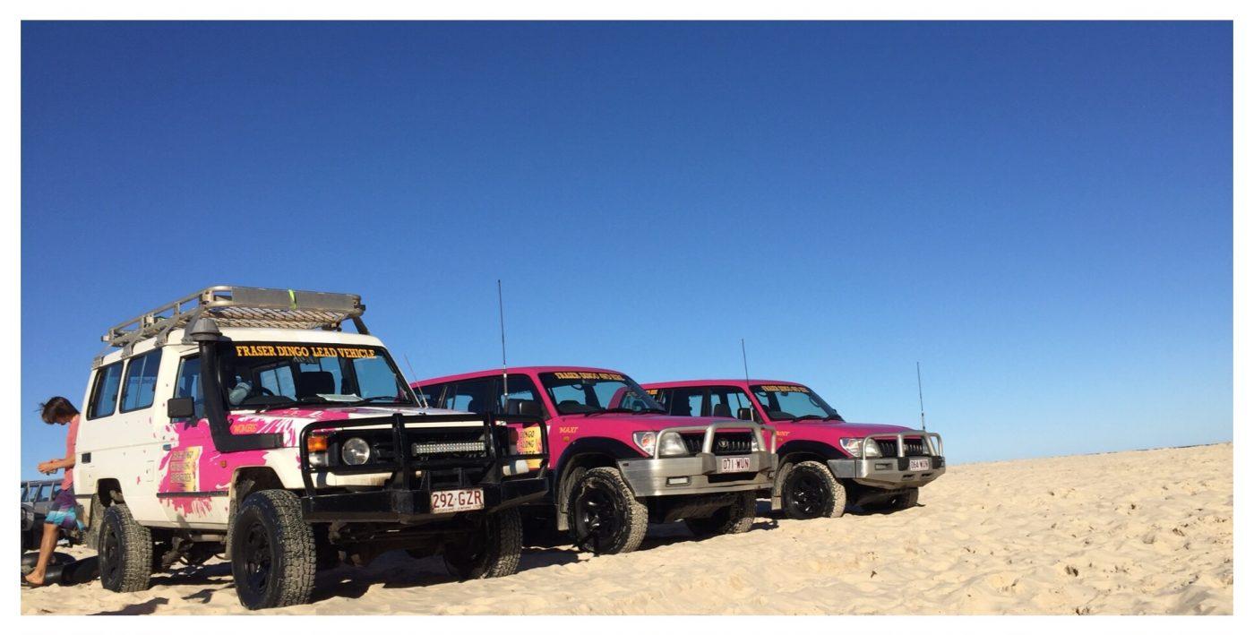 The 4x4 convoy